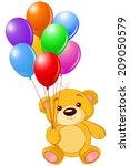 illustration of cute little... | Shutterstock . vector #209050579