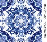 blue seamless pattern. design...