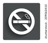 no smoking sign icon. quit...