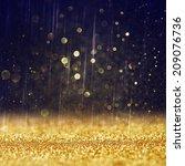 glitter vintage lights... | Shutterstock . vector #209076736