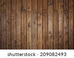 Old Wood Flooring On A Pier In...