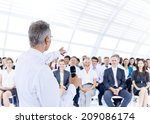 Businessman Giving Presentatio...