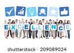 multi ethnic group of business... | Shutterstock . vector #209089024