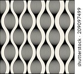 vector pattern. modern stylish... | Shutterstock .eps vector #209097499
