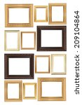 frame on the white background | Shutterstock . vector #209104864