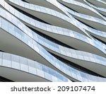 wave facade design   july 29  ... | Shutterstock . vector #209107474