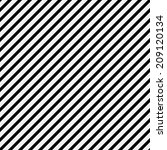 black and white diagonal... | Shutterstock . vector #209120134