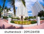 miami beach  florida usa  ...   Shutterstock . vector #209126458