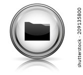 folder icon. internet button on ... | Shutterstock . vector #209135800