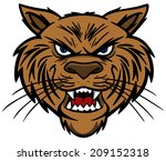 Wildcat - stock vector