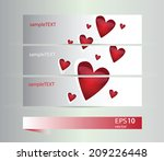 vector illustration set of... | Shutterstock .eps vector #209226448