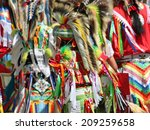 Colorful Native American...