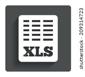 excel file document icon....
