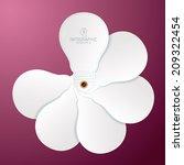 info graphics vector design...   Shutterstock .eps vector #209322454
