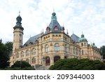 liberec city museum in czech... | Shutterstock . vector #209344003