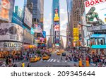 new york city   june 15  2013 ... | Shutterstock . vector #209345644