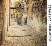 Deserted Medieval Street  ...