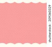 Stock vector abstract polka dot background vector illustration 209360329