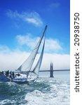 Beautiful Yacht In San...