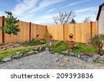 Backyard Landscape Design.