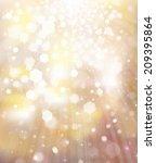 glitter golden background.  | Shutterstock . vector #209395864