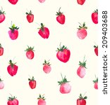 seamless background with fresh... | Shutterstock .eps vector #209403688