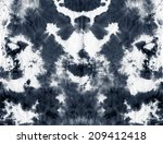 abstract tie dyed fabric... | Shutterstock . vector #209412418