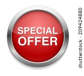special offer icon  | Shutterstock . vector #209424880