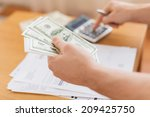 savings  finances  economy and... | Shutterstock . vector #209425750