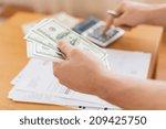 savings  finances  economy and... | Shutterstock . vector #209425750
