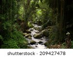 River At Gunung Kawi Temple In...