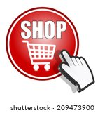 shop button   super market... | Shutterstock . vector #209473900