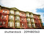 new york city apartments | Shutterstock . vector #209480563