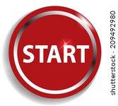 start circular icon | Shutterstock .eps vector #209492980