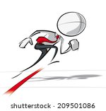 sparse vector illustration of a ...