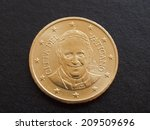 Fifty Euro Cent Coin From...