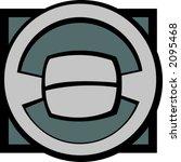 steering wheel | Shutterstock .eps vector #2095468