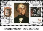 germany  circa 2003  a stamp... | Shutterstock . vector #209550220