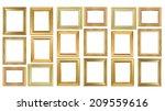 frame on the white background | Shutterstock . vector #209559616