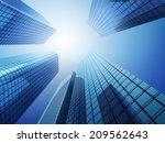 skyscrapers | Shutterstock . vector #209562643