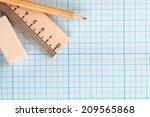 still life photo of engineering ... | Shutterstock . vector #209565868