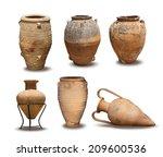 Greek Antique And Minoan Vase...