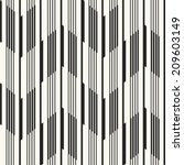 abstract ornate striped... | Shutterstock .eps vector #209603149