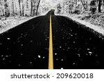 An Infrared Photo Taken Of An...