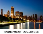 chicago  usa   12 july 2014 ... | Shutterstock . vector #209686918