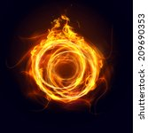 ring of fire | Shutterstock . vector #209690353