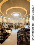 dubai  uae   april 29  shoppers ... | Shutterstock . vector #209768314