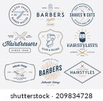 vector badges for any use | Shutterstock .eps vector #209834728