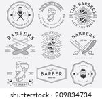 vector badges for any use | Shutterstock .eps vector #209834734
