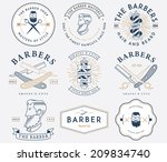 vector badges for any use | Shutterstock .eps vector #209834740